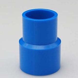 Wang shufang 1pc Bleu Tube Fitting Réduire Connecteurs Droite Jardin Conduite d'eau Connecteur PVC raccords de tuyauterie ...