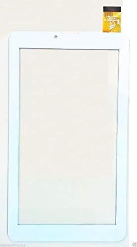vetro tablet majestic ULDAN Touch Screen per Majestic TAB-386 HD 3G Vetro Tablet Digitizer 7.0 Bianco