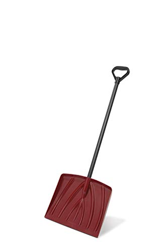 Suncast SK4000 12Inch Kids Snow Shovel With 34Inch Resin Handle