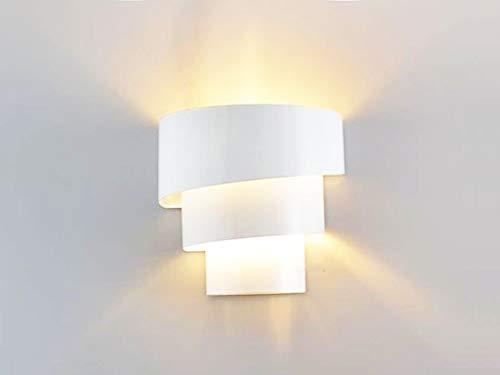 Applique da parete contemporanee moderne illuminazione interna in metallo verniciato mini luce notturna per camera da letto corridoio scala giardino parete E26 lampadina E27 BASE, 60 W