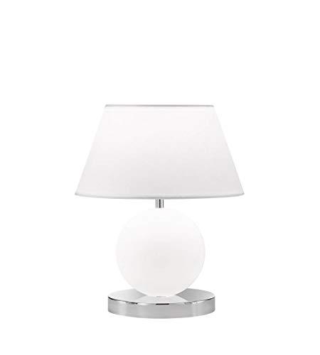 WOFI Luton Lámpara de mesa, chrom