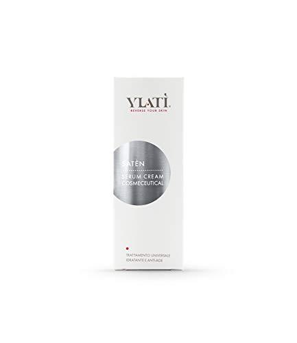 Ylati Serum Cream Satèn – Crema hidratante con ácido hialurónico de bajo peso molecular y ceramidas de acción antiedad, elasticizante, calmante y antiarrugas. Reduce las imperfecciones de la edad.