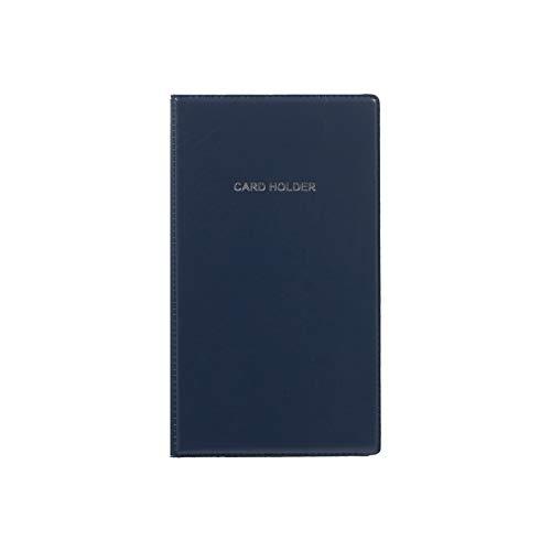 TTO - Libro de tarjetas de visita (120 tarjetas), color azul