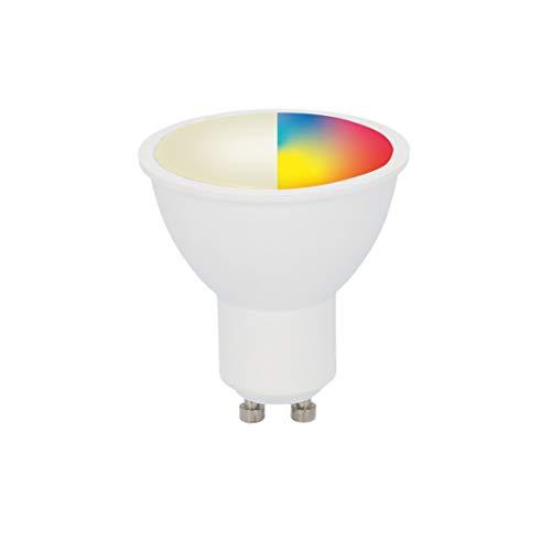 UNITEC WIFI Lampe GU10 CCT RGB |dimmbar | WLAN Lampe|Farbwechsel Kalt-/Warm-/Neutralweiß |mit Timer und Zeitschaltuhr
