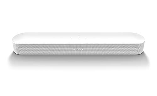 Sonos | Beam Gen2, Barra de Sonido TV y Música, Multiroom Wi-Fi, Imput HDMI eARC, Dolby Atmos, AirPlay2, Google Asistencia y Amazon Alexa - Blanco