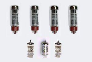 Jellyfish Audio el34,12ax7/ECC83y 12AU7/ECC82Kit de válvula para Blackstar HT etapa 100–Amplificador de guitarra