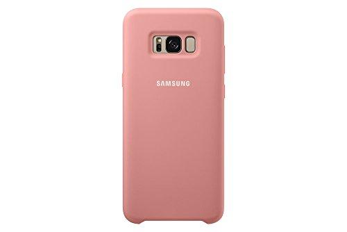 Samsung Silicone, Funda para smartphone Samsung Galaxy S8 Plus, Rosa (Pink)