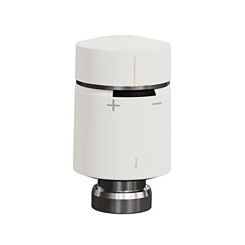 Termostato de radiador de la gama Wiser, 5,1 x 5,1 x 9,3 centímetros, color blanco (referencia: CCTFR6100)