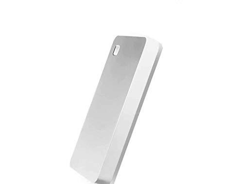 Disco Duro Externo 2.5 Alta Velocidad Memoria Inteligente WiFi Disco Duro MóVil Disco De Nube Privada Router InaláMbrico Refuerzo De WiFi Acceso Remoto (1TB, Plateado)