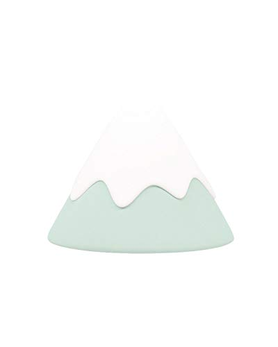 Night Light, DesignNest, Snow Mountain lamp, Tap Control&Timer Setting, Soft Silicone, Dimmable, Soft Eye Caring, Rechargeable, Portable, Nursery Lamp, Kids Safe