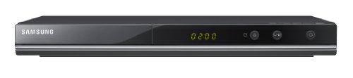 Samsung DVD-C350 DVD Player (Upscaler 1080p, DivX) perlschwarz