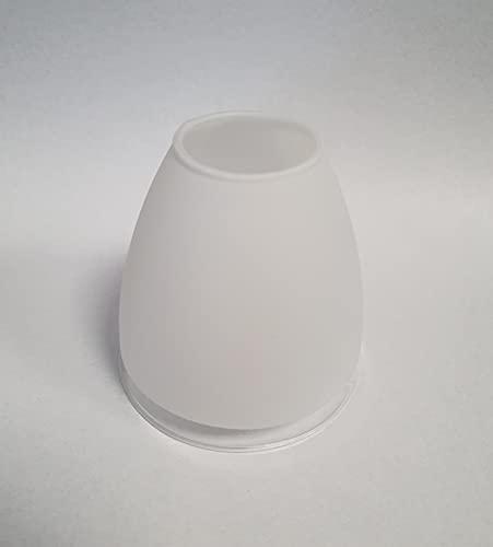 E14 Ersatzglas Lampenglas Doro Leuchtenglas klar / satiniert Glas Ersatzschirm Lampenschirm ⌀7cm LED geeignet