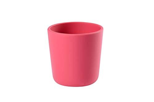 Béaba - Vaso silicona, unisex, color rosa