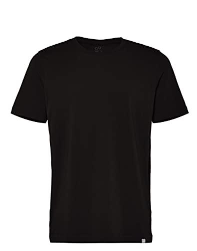 CARE OF by PUMA Herren-T-Shirt aus Baumwolle mit Rundhalsausschnitt, Schwarz (Black), 3XL, Label: 3XL