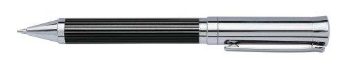 Wedo 260511326 Kugelschreiber (Tyron im Geschenketui) schwarz/chrom