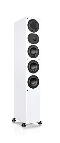 Nubert nuLine 264 Standlautsprecher | Lautsprecher für Stereo & Musikgenuss | Heimkino & HiFi Qualität auf hohem Niveau | Passive Standbox mit 3 Wege Technik Made in Germany | Standbox Weiß | 1 Stück