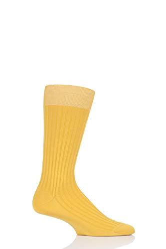 Pantherella Danvers Herren-Socken Gr. L, ocker