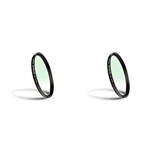 Walimex Pro UV-Filter Slim MC 62 mm (inkl. Schutzhülle) & UV-Filter Slim MC 58 mm
