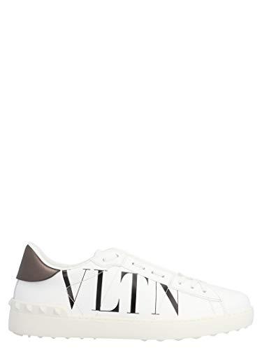 Valentino Luxury Fashion Garavani Herren TY2S0830PSTA01 Weiss Leder Sneakers | Jahreszeit Permanent