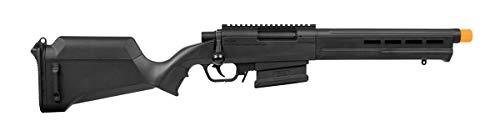 Elite Force Amoeba AS-02 Striker Rifle 6mm BB Sniper Rifle Airsoft Gun, Black