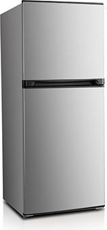 Avanti FF7B3S 7.0 CF Frost Free Refrigerator, Stainless Steel