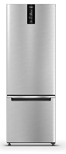 Whirlpool 325 L 2 Star Frost Free Double Door Refrigerator (IF PRO BM INV 340 ELT+, Omega Steel, Bottom Freezer)