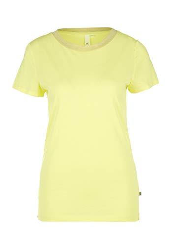 Q/S designed by T-Shirt Kurzarm, Giallo (1195 Sorbetto al Limone), M Donna