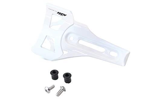 BISOMO KTM MTB Fahrrad Flaschenhalter - seitliche Entnahme - Weiß - mit Logo (5-390)