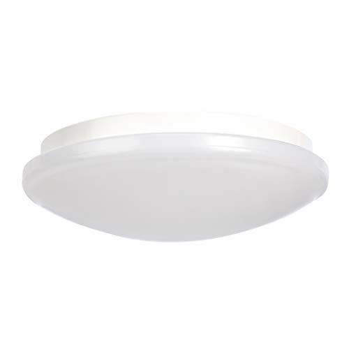 AmazonBasics - LED-Deckenleuchte, rund, 6 W, 225 mm Durchmesser, 2700 K, Warmweiß, 1 Stück
