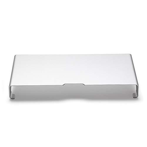 YAzNdom Archiefhouder voor computermonitor, tv-scherm, laptop, computer bijwerken en gemakkelijk te reinigen, aluminium, geschikt voor thuiswerkplek