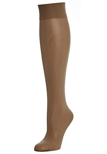 Wolford Satin Touch 20 Knee-Highs - Mujer caramel, M 20