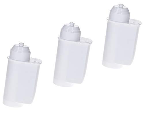 DL-pro Lot de 3 filtres à eau pour machine à café Bosch Siemens Neff Constructa 17000705 TZ70003 Brita Intenza