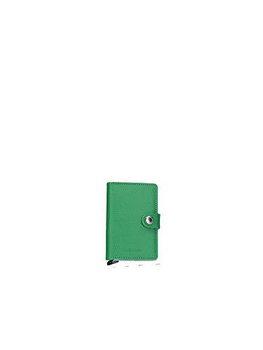 Secrid Damen Mini-Geldbörse aus echtem Leder, knusprig, RFID-Safe, für max. 12 Karten