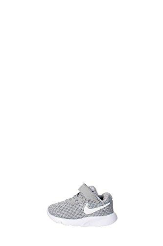 Nike Jungen Tanjun (TD) Sneaker, Grau (Wolf Grey/White/White 012), 17 EU