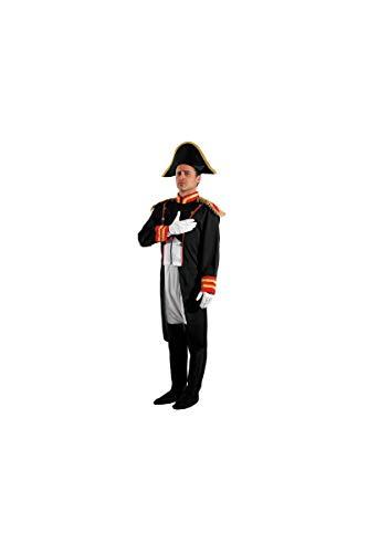 Party Pro- Déguisement de Napoléon, Mens, 87286100, Taille M/L