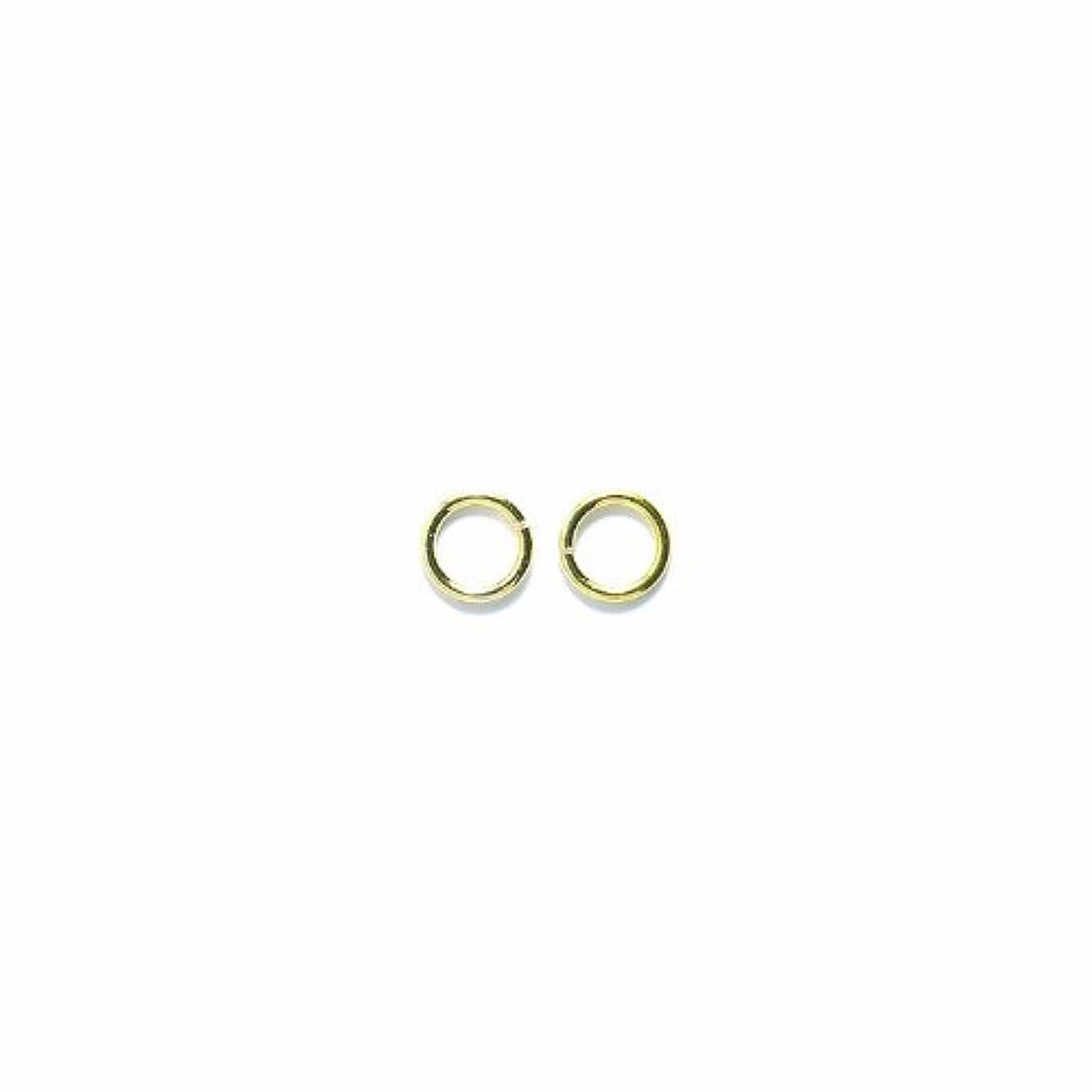 Shipwreck Beads Plated Brass Jump Ring, 7 mm, 18-Gauge, Metallic, Gold, 50 gm Pack