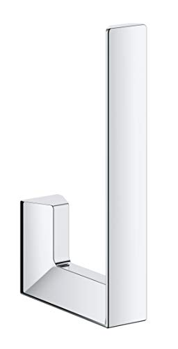 Grohe Selection Cube - Portarrollos de pared, color cromo (