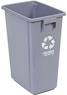Global Industrial Recycling Container - Gray 15 Gallon 12