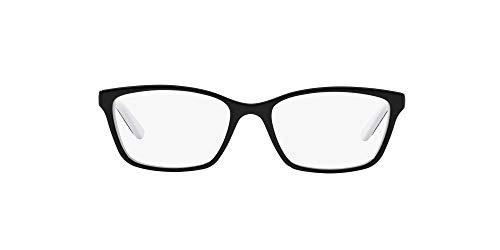Óculos de Grau Ralph by Ralph Lauren RA7044 Preto Lente Tam 52