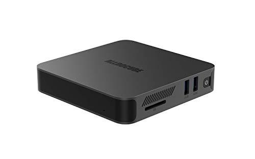 ALLDOCUBE SuperBox Mini PC, Intel Celeron J4005, 8GB RAM 128GB ROM, Soporte M.2 SSD, Windows 10 Home