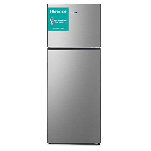 Hisense RT600N4DC2 Frigorifero Doppia Porta, 466 Litri, Total No Frost, Colore Inox, 70.4 × 68.6 × 185 cm