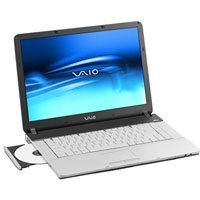 Sony VAIO -FS285M 39,1 cm (15,4 Zoll) WXGA Laptop (Intel Centrino 1.73 GHz, 1GB RAM, 80GB HDD, DVD+-RW DL, NVIDIA GF Go 6200)