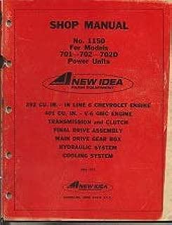 Shop Manual No. 1150 For Models 701-702-702D
