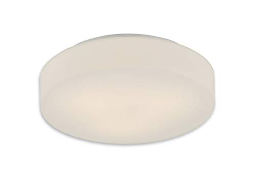 LUX de lámpara LED Lámpara de techo plafón Dan Cristal Pantalla Blanco...