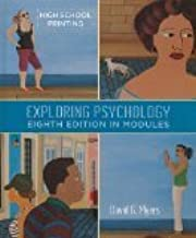 Exploring Psychology in Modules 8th Edition by Myers, David G. [Hardcover]