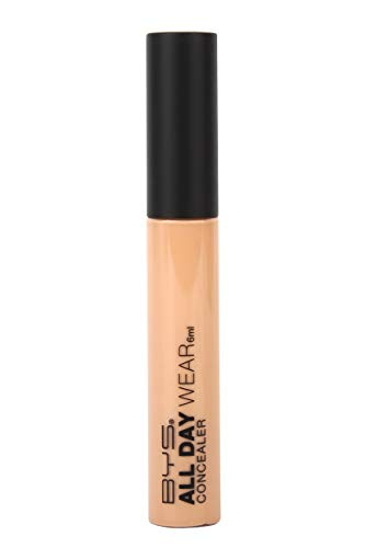 BYS All Day Wear Concealer with Built in Wand Natural Beige - Hide...