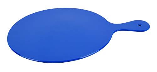 Mykonos Planche à découper en mélamine Bleu 24 x 33 x 0,4 cm
