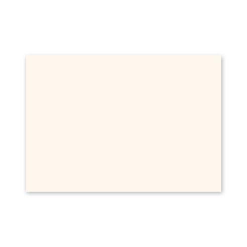 25 altweiße Blankokarten, Rohlinge für Postkarten A6 (stabiler Karton: Munken Pure 300 g/qm, beidseitig komplett unbedruckt)