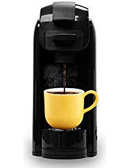 Caynel Single Serve Coffee Maker, Coffee Machine for Most Single K-Cup Pods and Ground Coffee, Included Reusable Coffee Filter. Removable Water Tank, Rapid...