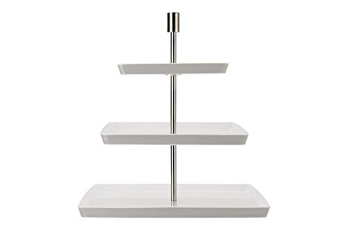 Thomas Loft by Rosenthal Etagere quadr.3-TLG, Porcelain, Centimeters